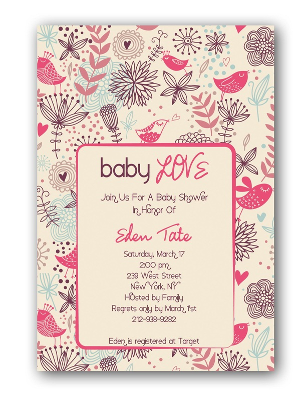 Cheap Baby Shower Invitations For Girl and get inspiration to create nice invitation ideas